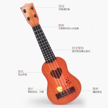 Props early teaching musical instruments baby children guitar female wooden beginner violin classical mini primary school ballad