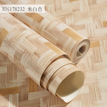3D Chinese retro antique bamboo straw wallpaper ceiling Chinese feng teahouse restaurant hot pot shop bamboo mat wallpaper.