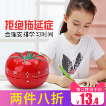Small alarm clock tomato clock Tomato Time Management timer timer countdown student with children cute cartoon girl