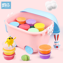Ultra Light clay 24 color 36 color children safe non-toxic plaster colored mud girl space mud clay toy set