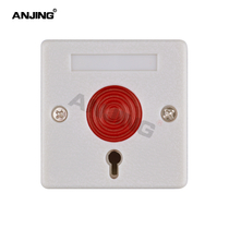 PB-68 emergency button manual key bank alarm elderly help alarm emergency call switch panel