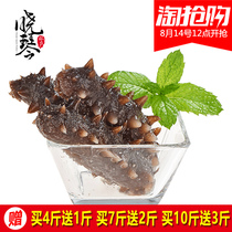 Xiao Qin instant sea cucumber Dalian wild sea cucumber sea cucumber seepage 500g single loaded natural marine gift box