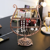 Nordic creative ornaments jewelry earrings nail pendant hanging hand jewelry necklace display desktop shelf storage box