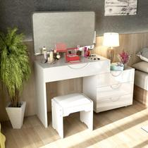 Nordic bedroom flip dresser small family modern simple makeup table economy Princess assembled makeup table
