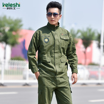 Military uniform mens camouflage suit male Special Forces combat training autumn outdoor wear camouflage overalls