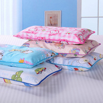 Children pillow pillow cotton Cassia special kindergarten pupils college students pillow winter and summer dual-use pillow