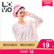 LOVO Home Textile Rowley Life production dry hair hat suction dry hair towel thickening bag plain dry hair hat
