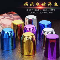 Suit dice dice bar night KTV creative screen Cup screen color color plug plug custom LOGO