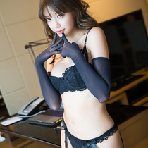 Sexy high-bullet stockings Gloves Accessories Uniform Temptation Tease Womens perspective lingerie passion Accessories Set