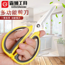 PA lion stainless steel scissors home kitchen scissors strong large scissors chicken bone scissors office small scissors civilian scissors