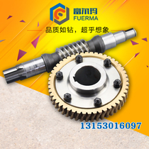 Construction elevator accessories reducer worm construction elevator and copper turbine worm factory direct sales