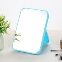 Send comb mirror folding mirror desktop Simple Mirror student portable large vanity mirror