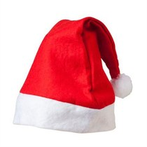 10-50 Christmas decorations adult hat plush childrens Christmas hat kindergarten gifts.