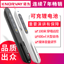 Noh for n76c PPT Paging pen rechargeable multimedia teaching courseware remote control pen electronic pen pointer presenter Infrared Pen multifunctional lecture pen playback pen