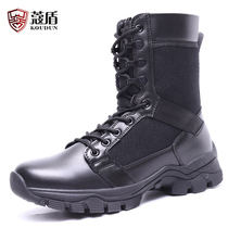 Spring and autumn 16 type combat boots male winter light waterproof wool military boots special forces stab shock absorption CQB tactical boots