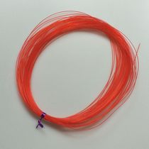 Children Amblyopia Training Beaded line hard red line crystal elastic line hand through the beads of the big red