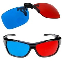 GTMax 2x Red and Cyan Glasses Fits over Most Prescription Gl