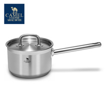 Camel Camel home 304 stainless steel milk pot thickening home baby food hot milk pot