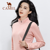 Camel outdoor 2019 autumn and Winter new fleece fleece jacket Jacket Men and women double-sided velvet warm jacket