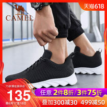 Camel outdoor 2019 spring and summer new trend sports casual ins Super fire black retro Wild Country tide shoes