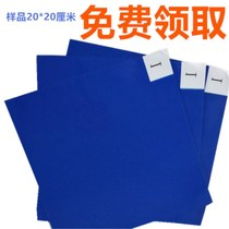 Blue sticky pad 60 90 removable anti-static foot pad dust-free workshop dust stickers dust removal paper mats