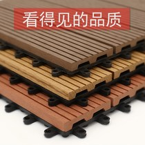 Outdoor anti-corrosion outdoor park river boardwalk corridor wall floor balcony terrace floor plastic wood fence