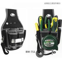 Up grinding tool bag repair pockets waist hanging tool bag electrician tool bag canvas multi-function small pockets