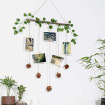 Wall decoration pendant room bedroom wall hanging creative plant ornaments restaurant kindergarten wall wall decoration