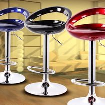 Acrylic stool bar stool modern minimalist highchair bar stool cell phone shop stool backrest bar stool home