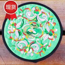 National wind embroidery flower n cloth table mat coaster insulation pad anti-hot pad Bowl pad plate pad crafts coaster