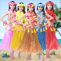 Hawaiian hula dance costume adult hula thickening suit environmental clothing Seaweed Dance Festival costumes