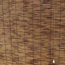 Carbonized Reed Reed shutter do old decorative curtain retro partition Reed curtain lifting curtain sunshade curtain