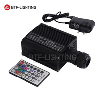 LED18W Fiber Flashing RGBW light source RF RF 28 Key DC12V starry Colorful light machine