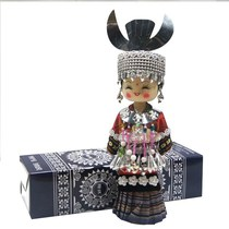 Guizhou tourism doll ethnic specialties fat large Miao ethnic handicrafts home decorations