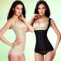 2019 New bundles of chest sexy high waist 200 Jin Waist lady Sling All-in-one body plastic clothes to collect belly girdle waist girl