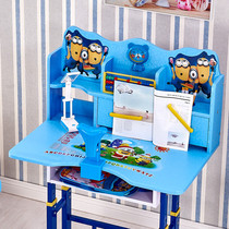 Childrens desk baby learning table can lift the student desk writing desk childrens chair set