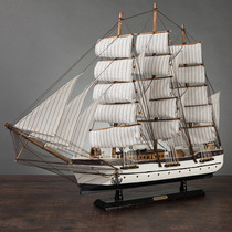 Sailing model ornaments handmade simulation wooden crafts living room furnishings creative decorations gifts