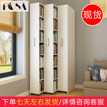 Bookcase simple modern mobile pull bookcase multi-functional push and pull combination bookcase small household type creative bookcase