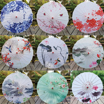 Oil paper umbrella classical Jiangnan Dance Umbrella cheongsam catwalk show decorative umbrella Chinese ancient hanfu female costume umbrella