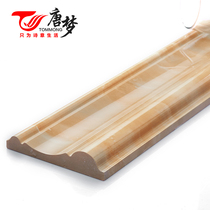 Tang Meng imitation marble closing edge background wall border waist line tile line wrapping stone around the edge of the closing edge
