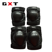 GXT short protective gear motorcycle protective gear electric bicycle knee brace four-piece cycling protective gear