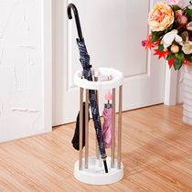 Stainless steel floor umbrella bucket umbrella umbrella umbrella umbrella storage rack