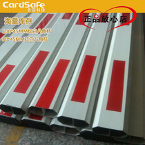 Car an parking lot barrier Rod fence pole octagonal pole cell access control landing pole aluminum door guard car straight bar