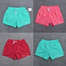 Outside single tide sWIN SHORTS solid-color fast dry swimming fitness shorts running surf beach pants 0.15