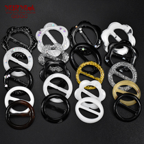 Clothing knotted buckle Korean T-shirt buckle decorative buckle clothing deduction Joker clothes hem clothing deduction clothes buckle button