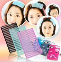 Hair accessories headdress South Korea post bangs paste universal seamless Velcro bangs fixed magic post (two)