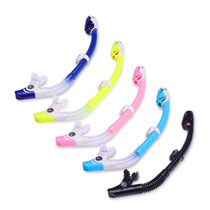 PAJIESI Pates Snorkelequipment Swimming Submersible Respirator Imported Silicone Full Dry Breathing Tube