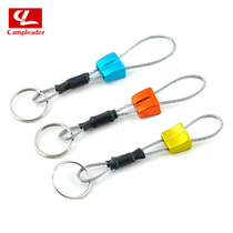 Brand tail single quality rock plug skill equipment rock climbing equipment key ring keychain outdoor supplies
