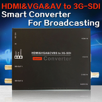 HDMI to SDIVGA to SDIAV to SDI broadcast level SDI converter