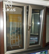Shanghai Germany xucas doors and windows closed balcony broken bridge aluminum casement window sound insulation broken bridge aluminum